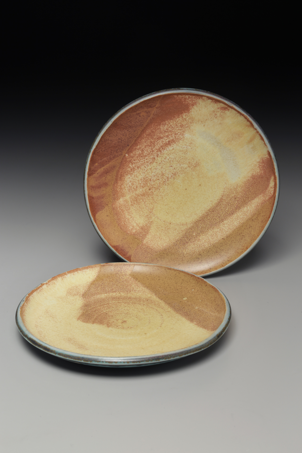 "10"" Dinner Plates, Lori Theriault"
