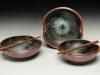 Chopstix Bowls, Starry Night glaze, Lori Theriault