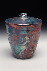 the village potters, fine ceramics, raku, bernie segal, asheville, nc