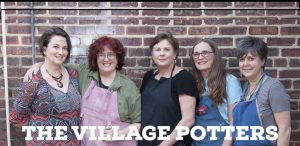 the village potters, asheville, nc, river arts district, pottery, ceramics, gallery, pottery classes, teaching center, clay center, laguna clays, open house