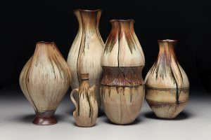 the village potters, asheville, nc, pottery, river arts district, sarah wells rolland