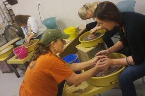 The Village Potters, Judi Harwood, Teaching Center, Pottery Classes