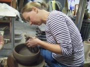 The Village Potters, Mellie Lonnemann, Teaching, Pottery Classes