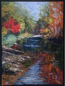 the village potters, asheville, nc, studio stroll, jenny buckner, painting