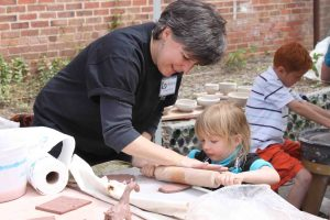 The Village Potters, Studio Stroll, June 10, Kids Activities