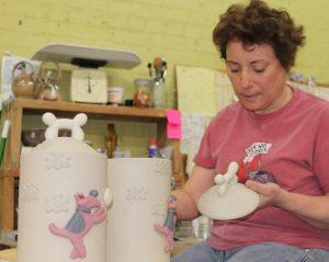 the village potters, cat jarosz, southern highland craft guild