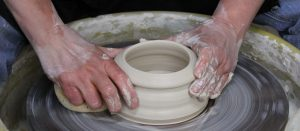 the village potters, teaching center, pottery classes, southern highland craft guild
