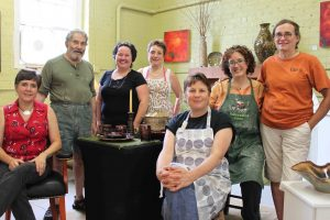 The Village Potters, Pottery Studio, Anniversary Party