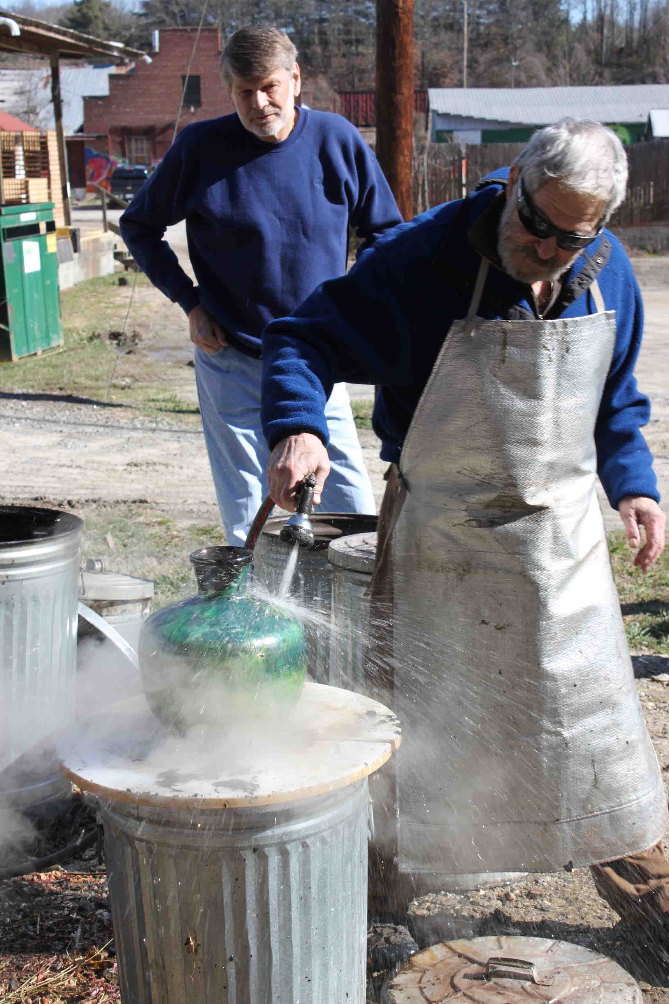 The Village Potters, Raku, Pottery, Workshops, Bernie Segal, Judi Harwood