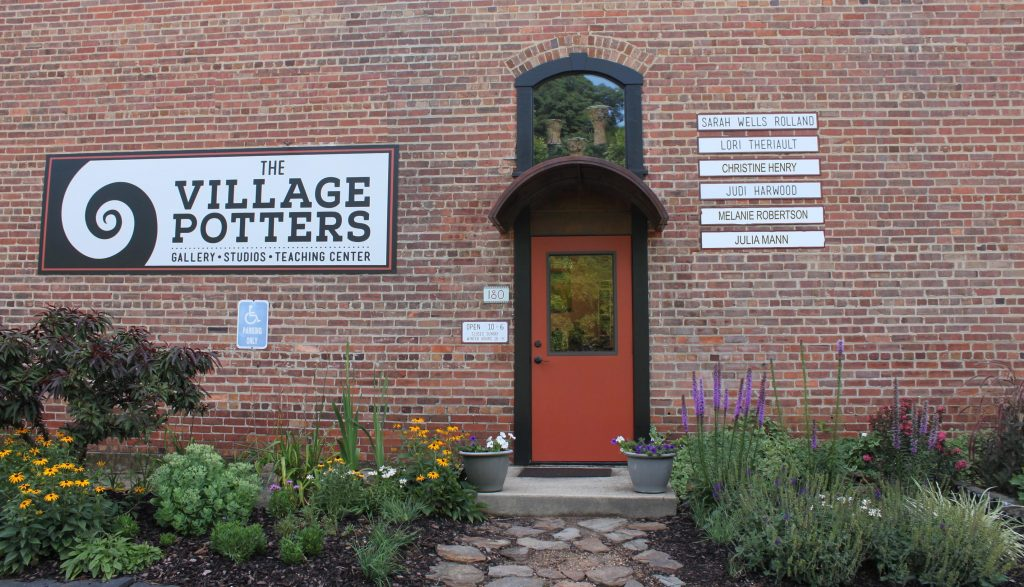 the village potters, asheville, nc, pottery, ceramics, pottery classes, gallery, teaching center, advanced ceramics, clay company, laguna clays