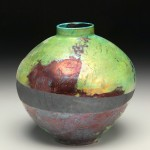 the village potters, asheville, nc, pottery, raku, bernie segal