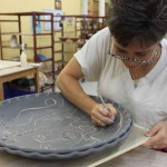 the village potters, asheville, nc, pottery, ceramics, gallery, melanie robertson