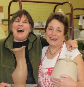 The Village Potters, Sarah Wells Rolland, Cat Jarosz, Masters Series, Pottery, Workshop