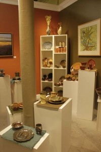 the village potters, asheville, nc, pottery, gallery, ceramics, raku, river arts district, dinnerware, registry