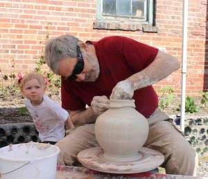 the village potters, bernie segal, weekdays at bernies, appreciation