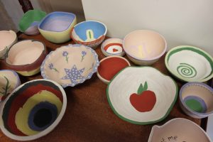 the village potters, asheville, nc, empty bowls, manna foodbank