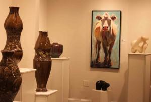 the village potters, asheville, nc, pottery, ceramics, gallery, sculpture