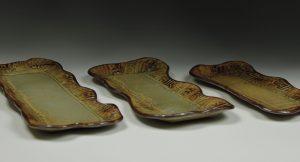 Set of Three Trays