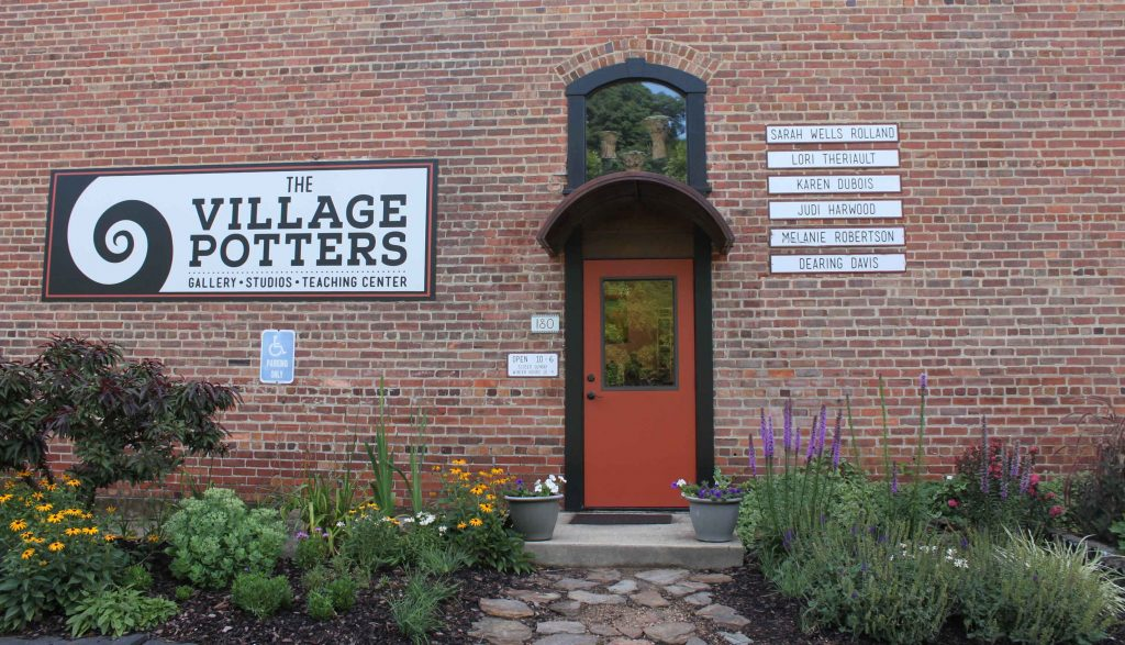 the village potters, asheville, nc, pottery, ceramics, raku, sculpture, teaching center, pottery class, shop online