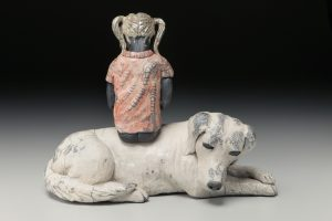the village potters, asheville, nc, pottery, sculpture, raku, judi harwood