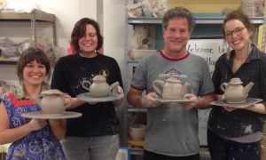 the village potters, asheville, nc, pottery, river arts district, independent study, mentoring program, teaching center