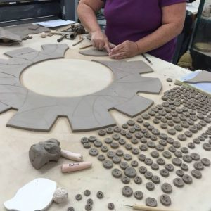 the village potters, asheville, nc, pottery, ceramics, gallery, american , craft week, craft creates community