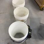 the village potters, kazegama kiln, ash shaker, cleaning wood ash, wood ash kiln