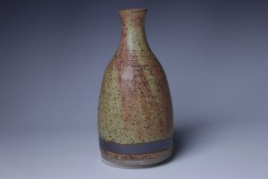 the village potters, asheville, nc, pottery, vase, handmade, dearing davis