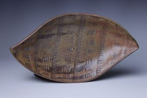 the village potters, asheville, nc, pottery, tray, handmade, dearing davis