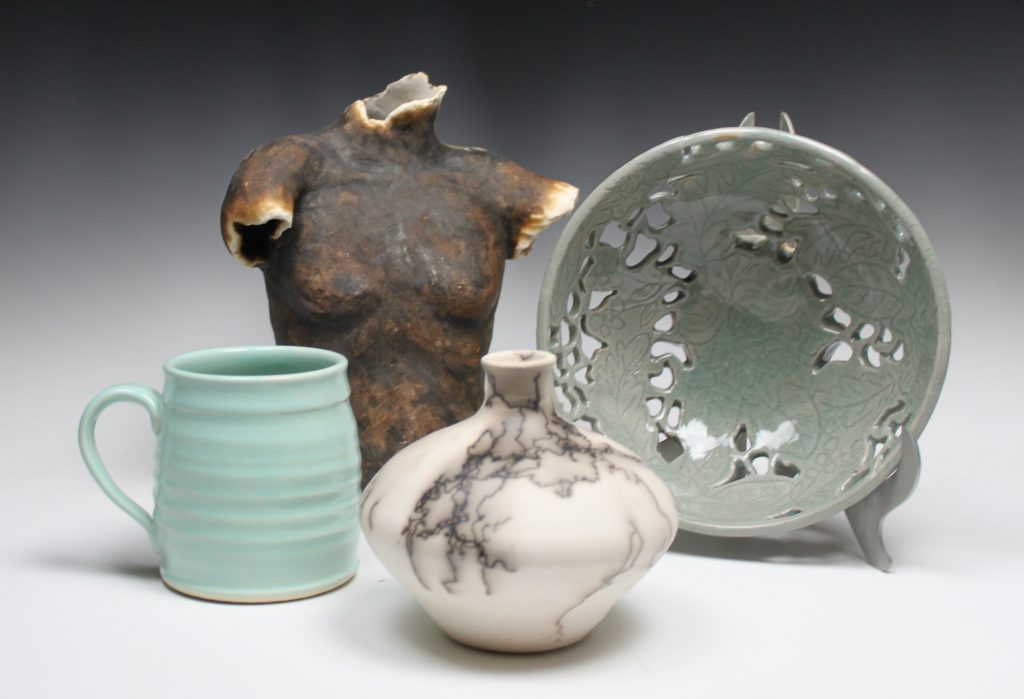 the village potters, asheville, nc, pottery, ceramics, gallery, apprentices, next generation, exhibit