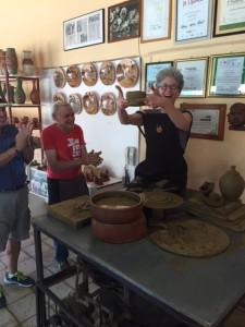 the village potters, asheville, nc, pottery, cuba, nancee neel, Azariel Santander