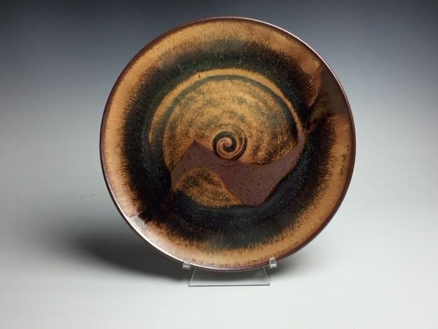 Dinner plate ET glaze