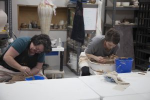 the village potters, asheville, nc, pottery, ceramics, independent learning, mentoring, advanced studies, scholarship fund, donate
