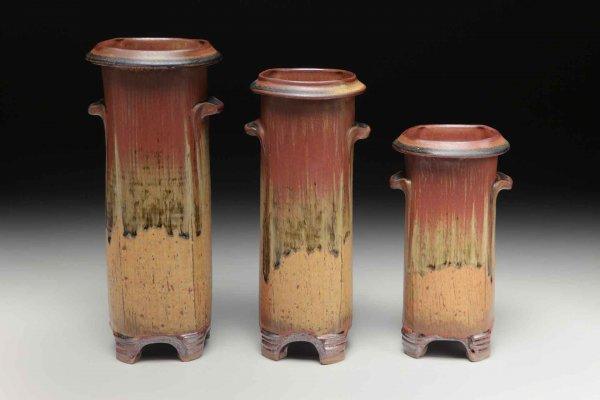 Trio of Vases, Sarah Wells Rolland