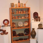 The Village Potters, Fine Craft, Pottery, Gallery, Lori Theriault