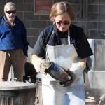 The Village Potters, Raku, Pottery, Sculpture, Workshops, Bernie Segal, Judi Harwood