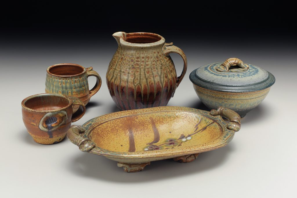 the village potters clay center, asheville, nc, pottery, ceramics, bob brotherton, special exhibit, art exhibit