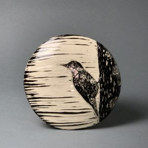 the village potters clay center, asheville, nc, christine henry, sgraffito
