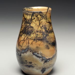 Judi Harwood, The Village Potters Clay Center, Asheville, NC, Raku, Saggar