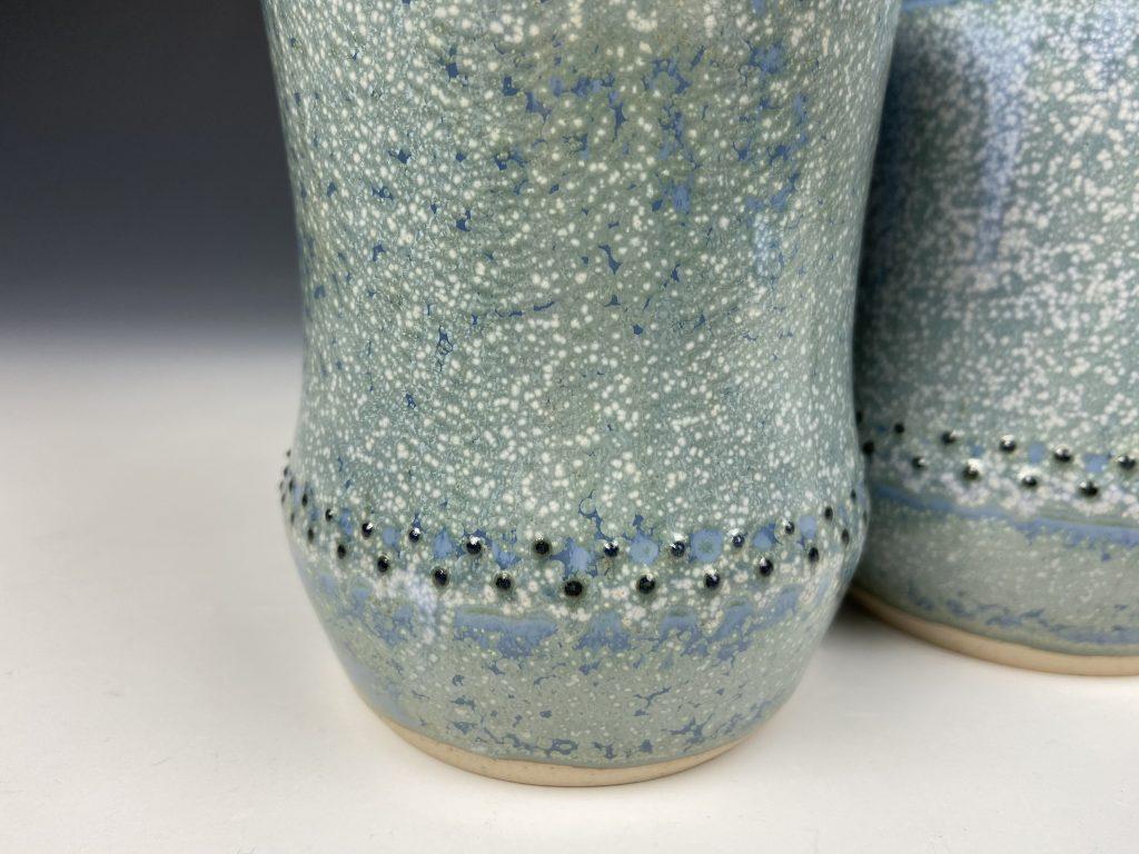 the village potters clay center, asheville nc, pottery, ceramics, shop online, online shop, dot pots, katie meili messersmith