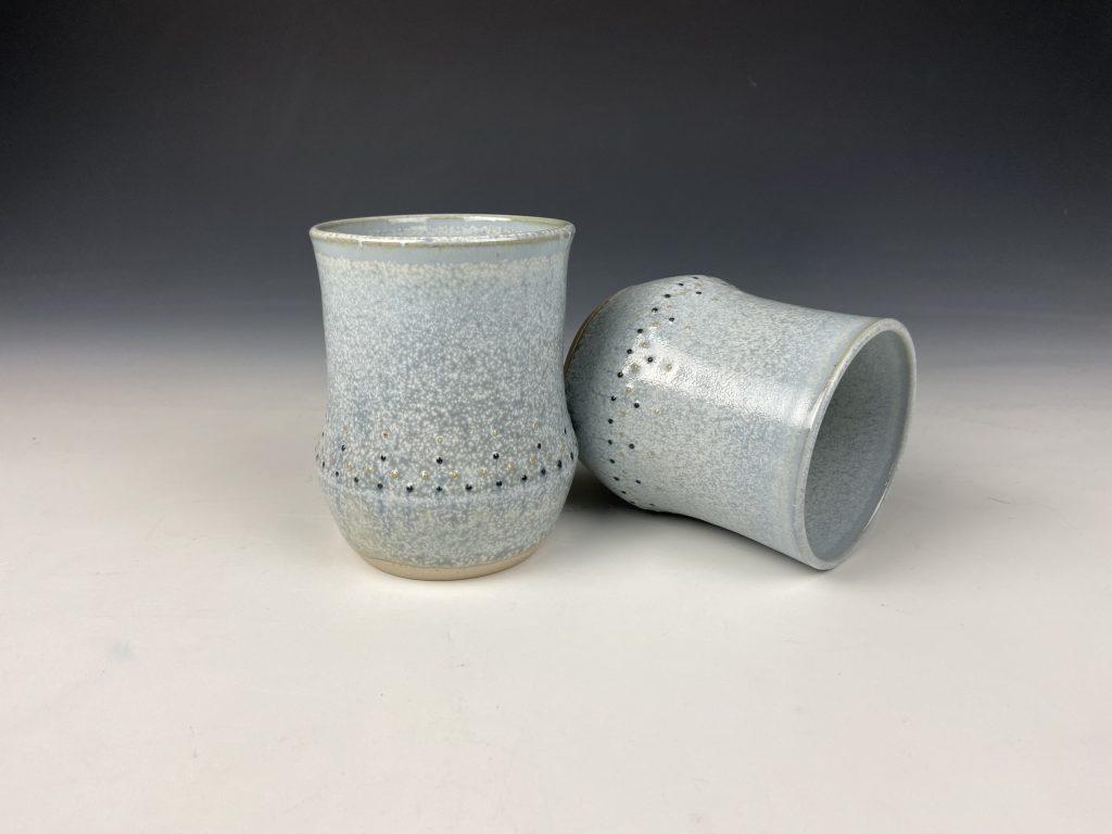 the village potters clay center, asheville nc, pottery, ceramics, online shop, shop online, katie meili messersmith, dot pots