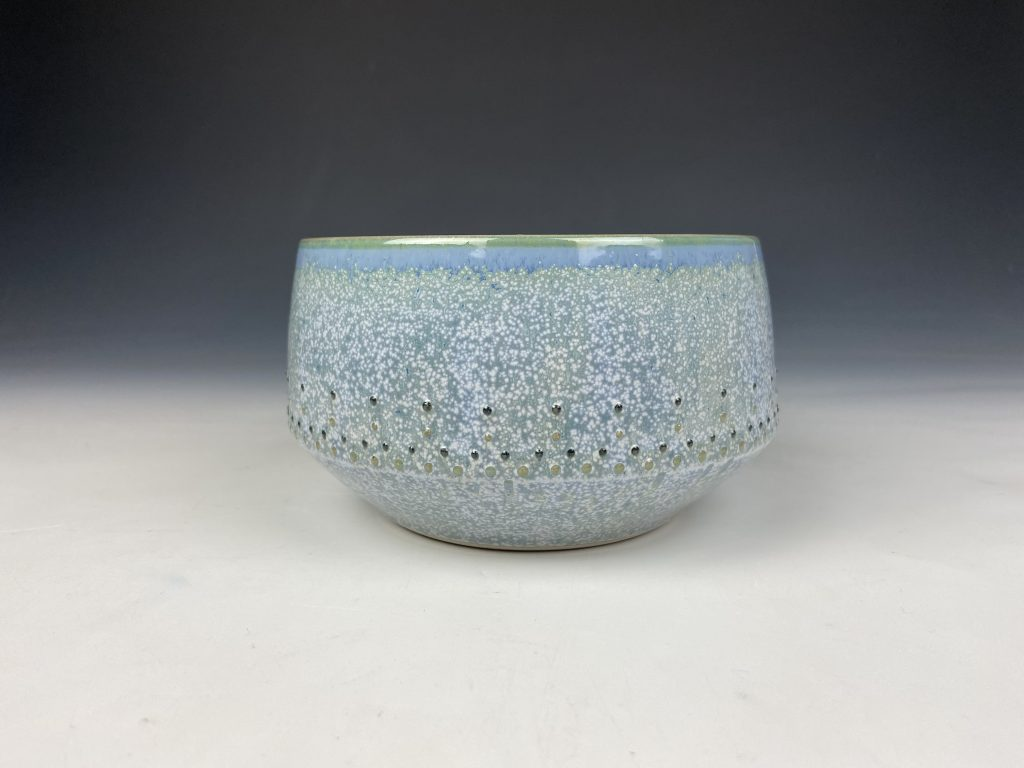 the village potters clay center, pottery, ceramics, online shop, shop online, dot pots, bowls, katie meili messersmith
