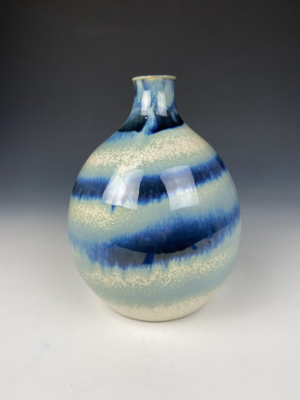the village potters clay center, asheville nc, pottery, ceramics, online shop, wheel thrown pottery, vase, katie meili messersmith